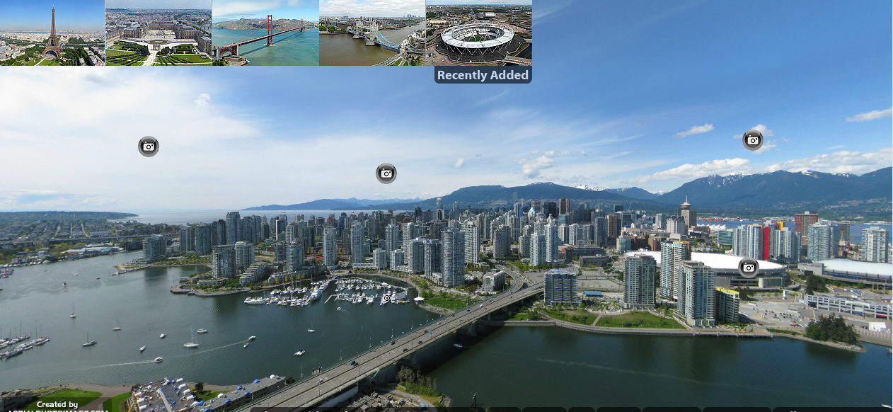 360 Degree Aerial View of Vancouver | Advgrrl Motorcycle ...