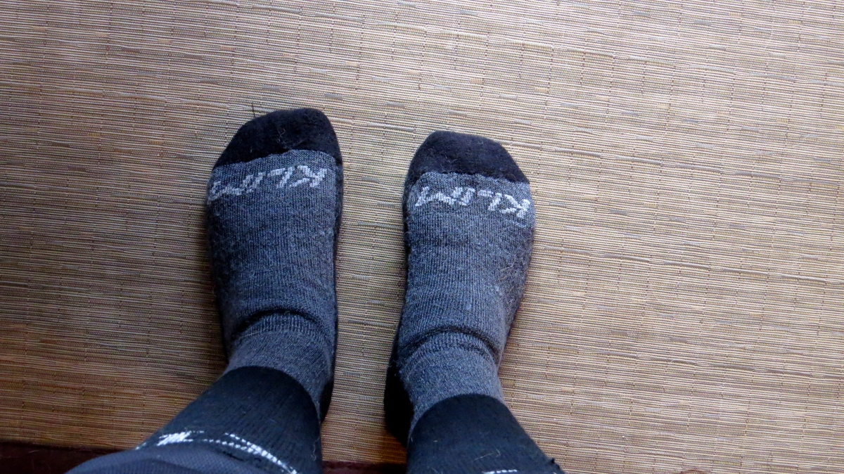 comfy winter KLIM socks rock