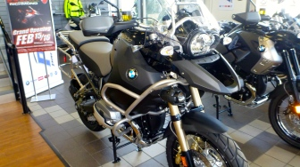2013 BMW 1200GS Anniversary Edition