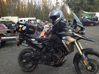 Before the Dual Sport BC Spring Ride