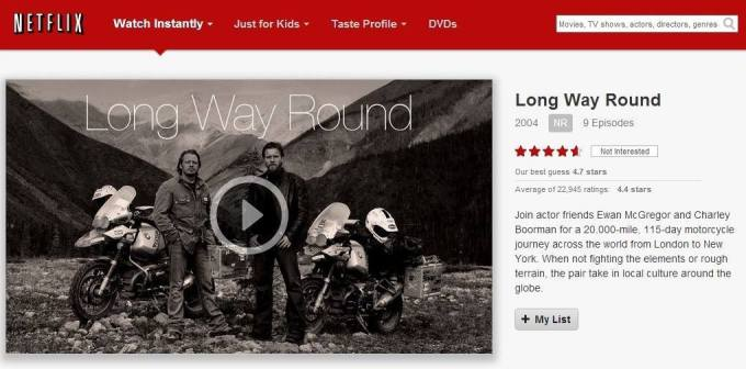 Long Way Round and Long Way Down