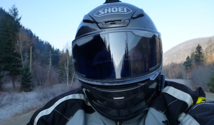 2d8a41b3 Shoei RF-1200 Helmet Review & HORNET – I LOVE IT | Advgrrl Motorcycle  Adventures & More